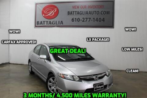 2010 Honda Civic for sale at Battaglia Auto Sales in Plymouth Meeting PA