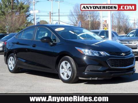 2018 Chevrolet Cruze for sale at ANYONERIDES.COM in Kingsville MD
