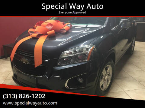 2016 Chevrolet Trax for sale at Special Way Auto in Hamtramck MI