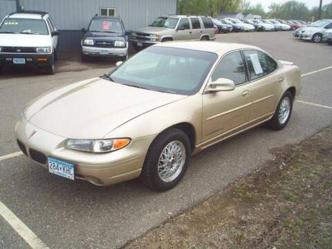 2000 Pontiac Grand Prix for sale at Dales Auto Sales in Hutchinson MN
