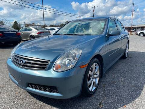 2006 Infiniti G35 for sale at Signal Imports INC in Spartanburg SC