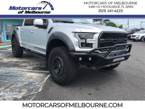 2017 Ford F-150 for sale at Motorcars of Melbourne in Rockledge FL