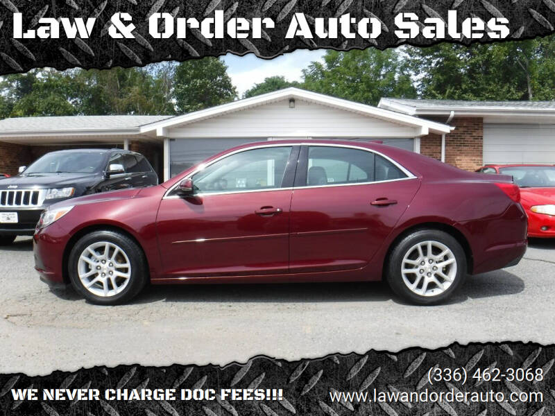 2015 Chevrolet Malibu for sale at Law & Order Auto Sales in Pilot Mountain NC