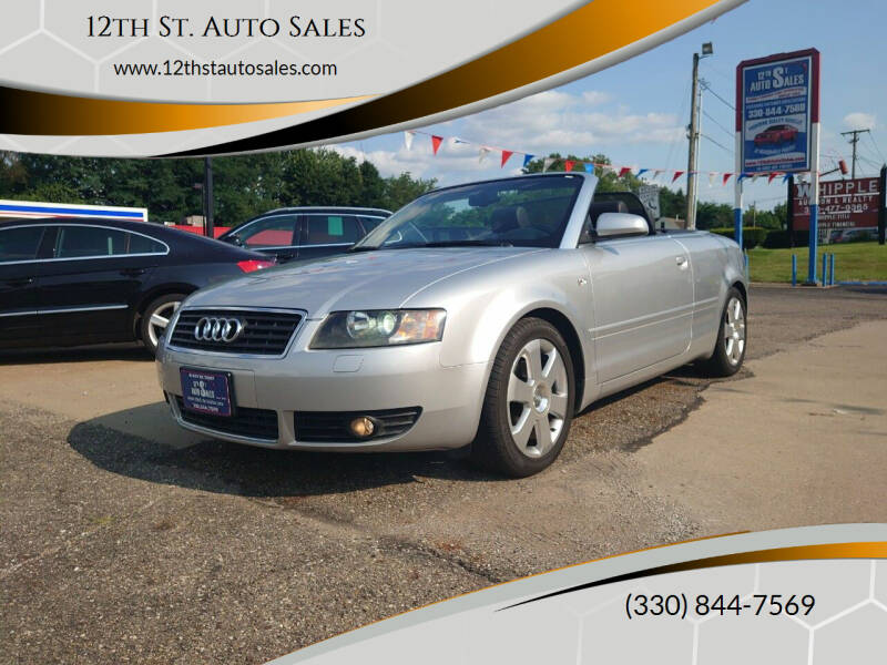 2006 Audi A4 for sale at 12th St. Auto Sales in Canton OH
