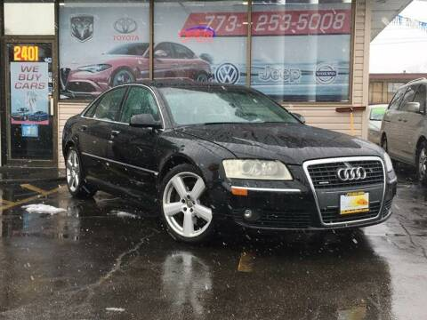 2006 Audi A8 for sale at TOP YIN MOTORS in Mount Prospect IL