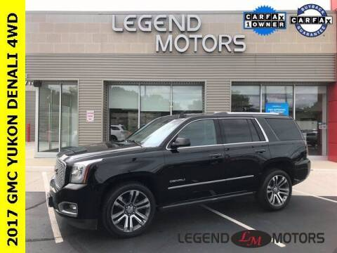 2017 GMC Yukon for sale at Legend Motors of Detroit - Legend Motors of Waterford in Waterford MI
