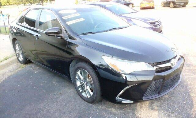 2017 Toyota Camry for sale at Jim Clark Auto World in Topeka KS