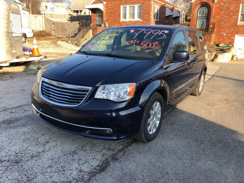 2014 Chrysler Town and Country for sale at Kneezle Auto Sales in Saint Louis MO
