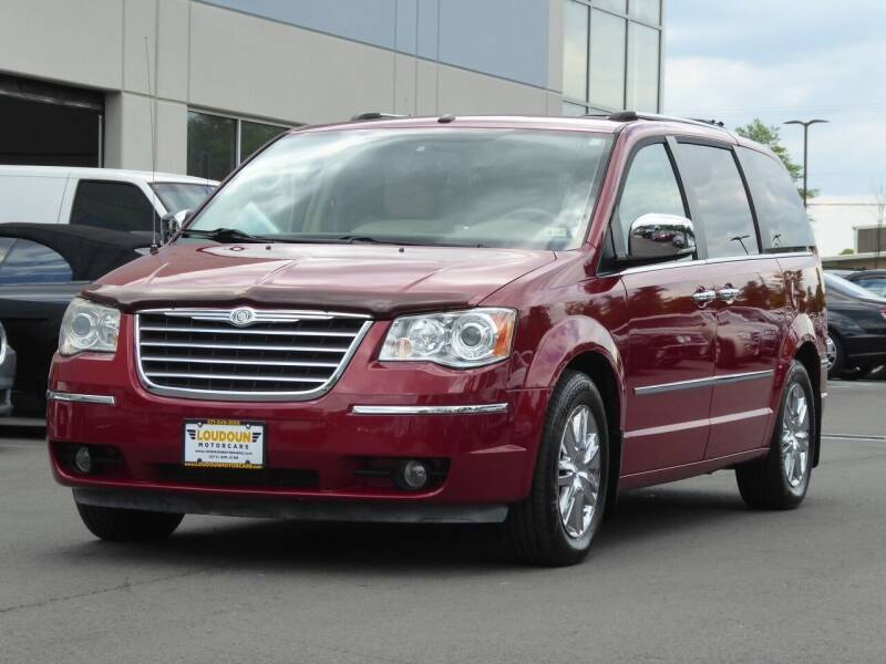 2008 Chrysler Town and Country for sale at Loudoun Motor Cars in Chantilly VA