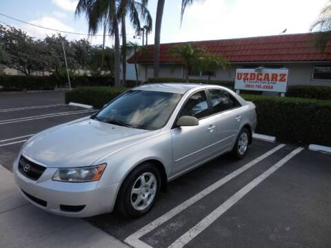 2008 Hyundai Sonata for sale at Uzdcarz Inc. in Pompano Beach FL
