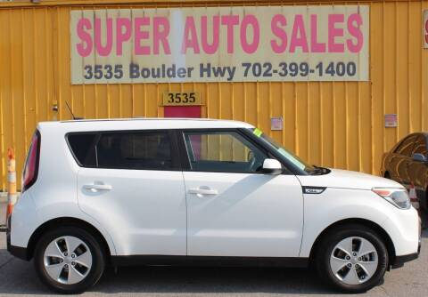 2016 Kia Soul for sale at Super Auto Sales in Las Vegas NV