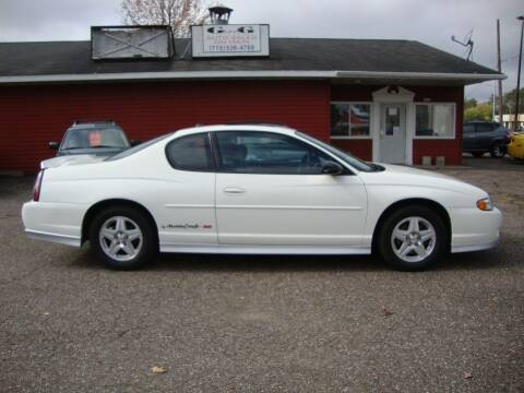 2003 Chevrolet Monte Carlo for sale at G and G AUTO SALES in Merrill WI