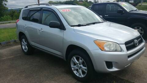 2011 Toyota RAV4 for sale at AutoBoss PRE-OWNED SALES in Saint Clairsville OH