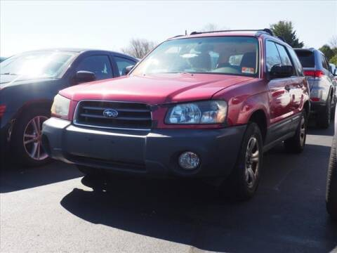 2005 Subaru Forester for sale at Buhler and Bitter Chrysler Jeep in Hazlet NJ