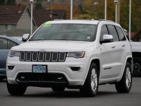 2017 Jeep Grand Cherokee for sale at CLINT NEWELL USED CARS in Roseburg OR