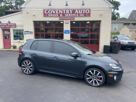 2012 Volkswagen GTI for sale at COVENTRY AUTO SALES in Coventry CT