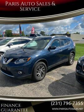 2013 Nissan Rogue for sale at Paris Auto Sales & Service in Big Rapids MI