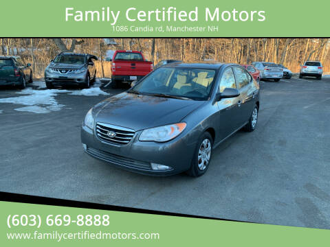 2009 Hyundai Elantra for sale at Family Certified Motors in Manchester NH