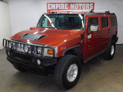 2003 HUMMER H2 for sale at EMPIRE MOTORS AUTO SALES in Philadelphia PA