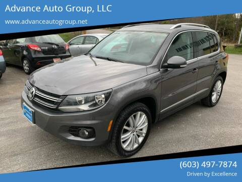 2012 Volkswagen Tiguan for sale at Advance Auto Group, LLC in Chichester NH