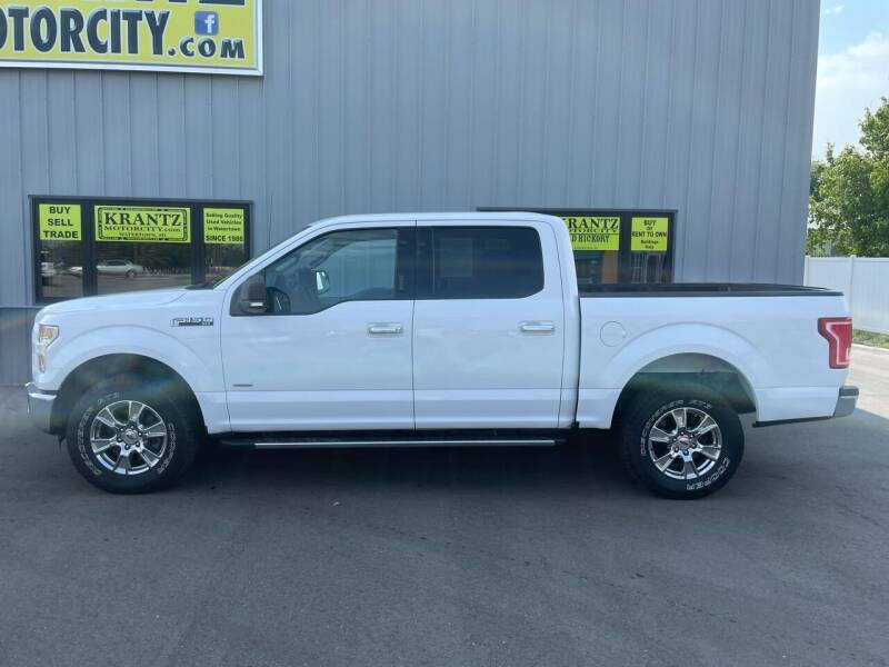 2016 Ford F-150 for sale at Krantz Motor City in Watertown SD