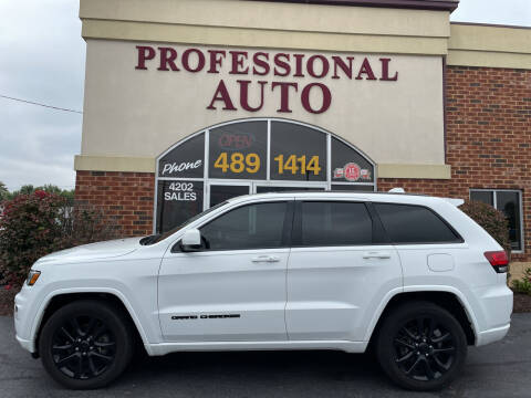 2017 Jeep Grand Cherokee for sale at Professional Auto Sales & Service in Fort Wayne IN