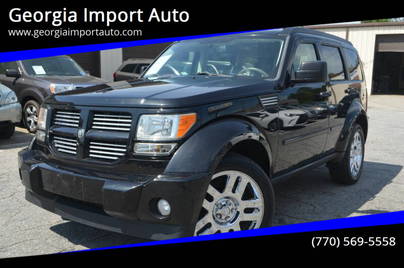 2010 Dodge Nitro for sale at Georgia Import Auto in Alpharetta GA