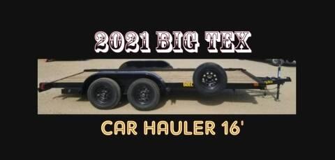 2021 Big Tex 60EC 16' CAR HAULER for sale at Tower Motors in Brainerd MN
