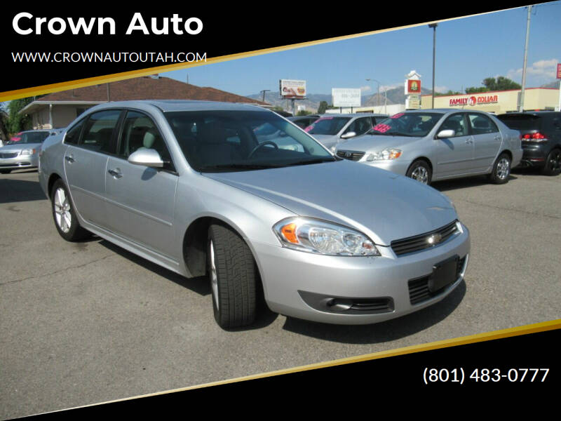2010 Chevrolet Impala for sale at Crown Auto in South Salt Lake City UT