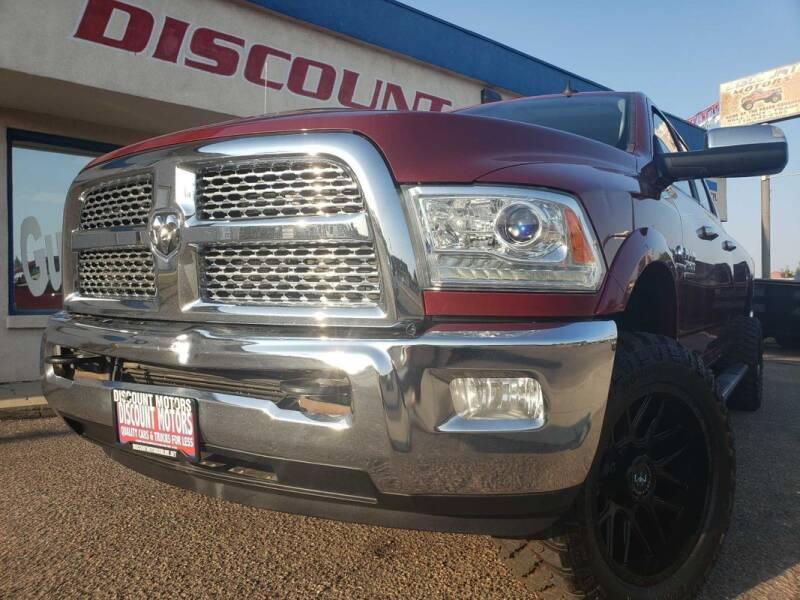2015 RAM Ram Pickup 2500 for sale at Discount Motors in Pueblo CO