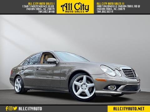 2009 Mercedes-Benz E-Class for sale at All City Auto Sales II in Indian Trail NC