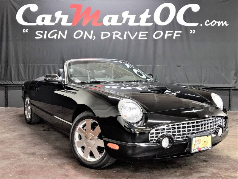 2002 Ford Thunderbird for sale at CarMart OC in Costa Mesa CA