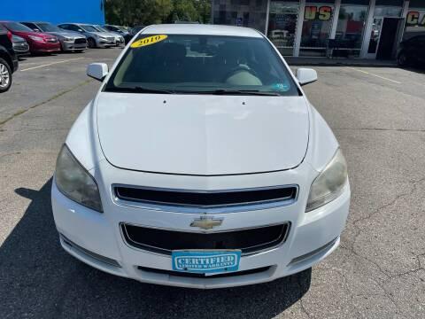2010 Chevrolet Malibu for sale at Daniel Auto Sales inc in Clinton Township MI