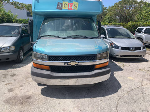 2010 Chevrolet Express Cutaway for sale at Dulux Auto Sales Inc & Car Rental in Hollywood FL
