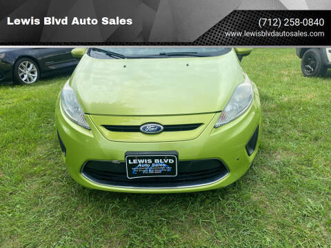 2012 Ford Fiesta for sale at Lewis Blvd Auto Sales in Sioux City IA