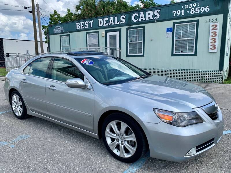 2010 Acura RL for sale at Best Deals Cars Inc in Fort Myers FL