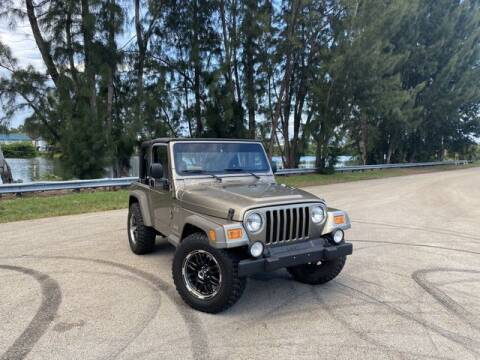 2006 Jeep Wrangler for sale at Exclusive Impex Inc in Davie FL