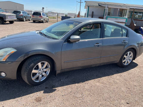 2006 Nissan Maxima for sale at PYRAMID MOTORS - Fountain Lot in Fountain CO