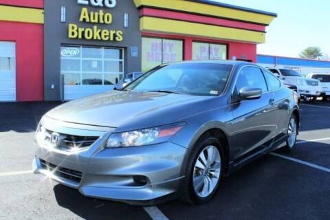 2012 Honda Accord for sale at L & S AUTO BROKERS in Fredericksburg VA