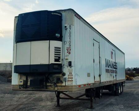 2014 Great Dane Everest 48' Reefer Trailer for sale at A F SALES & SERVICE in Indianapolis IN