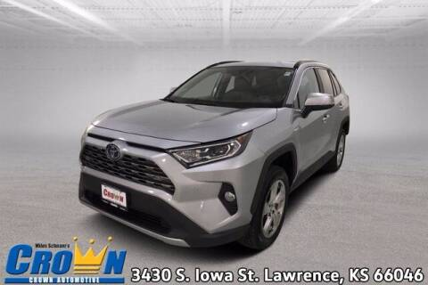 2020 Toyota RAV4 Hybrid for sale at Crown Automotive of Lawrence Kansas in Lawrence KS