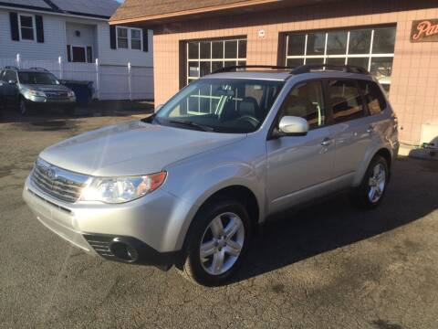 2010 Subaru Forester for sale at Pat's Auto Sales, Inc. in West Springfield MA
