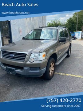 2006 Ford Explorer for sale at Beach Auto Sales in Virginia Beach VA
