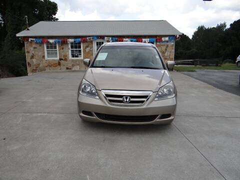 2007 Honda Odyssey for sale at Flywheel Auto Sales Inc in Woodstock GA