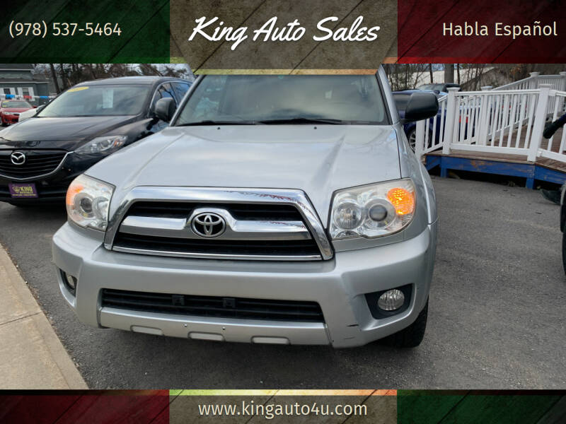 2007 Toyota 4Runner for sale at King Auto Sales in Leominster MA