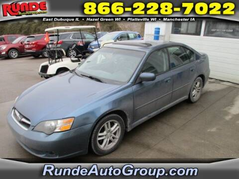 2005 Subaru Legacy for sale at Runde Chevrolet in East Dubuque IL