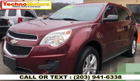 2010 Chevrolet Equinox for sale at Techno Motors in Danbury CT