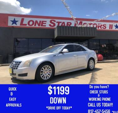 2012 Cadillac CTS for sale at LONE STAR MOTORS II in Fort Worth TX