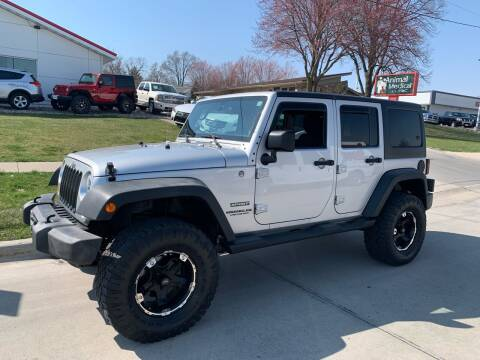 2012 Jeep Wrangler Unlimited for sale at Efkamp Auto Sales LLC in Des Moines IA