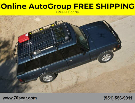 1995 Land Rover Range Rover for sale at Online AutoGroup FREE SHIPPING in Riverside CA